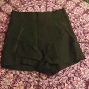 Black high waisted Charlotte Russe shorts
